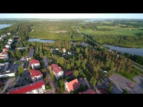 Quiet Kangasala City. Finland 15.6.2016