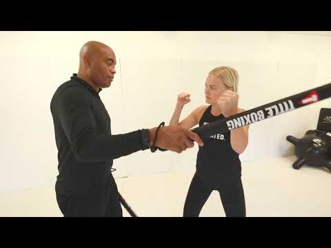 Malin Akerman Learns Some Moves from Sensei Spider