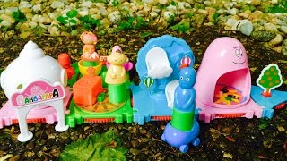 IN THE NIGHT GARDEN Toys Visit BARBAPAPA Playland Park!