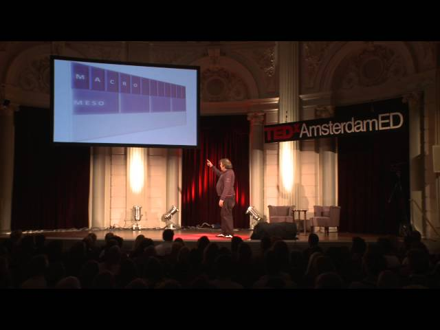 For excellence we need a motion of trust: Pedro de Bruyckere at TEDxAmsterdamED