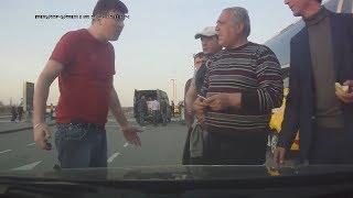 Мужик успокоил дерзких бомбил в Домодедово