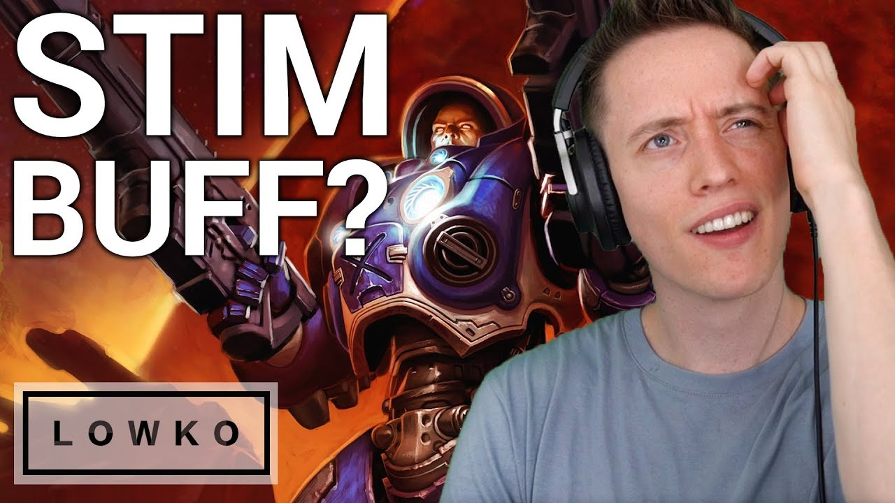 StarCraft 2: STIMPACK BUFF? (New Balance Changes)