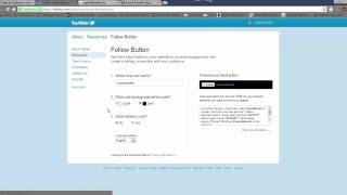 How To Add Twitter Button To Your Website