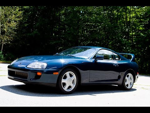 One-Owner 1994 Toyota Supra Turbo 6-Speed