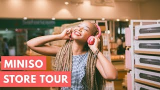 THE NEWEST STORE IN TOWN // MINISO STORE TOUR // Wabosha Maxine