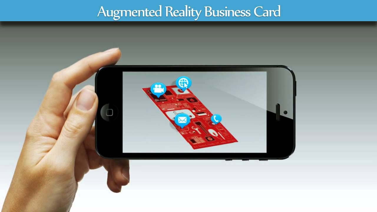Augmented reality business cards extend consumers view youtube augmented reality business cards extend consumers view reheart Choice Image