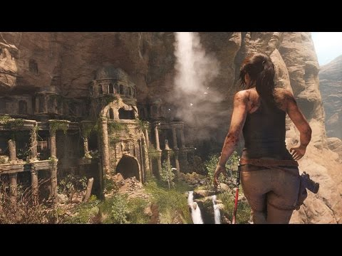 Rise Of The Tomb Raider Gameplay Des Temples Youtube