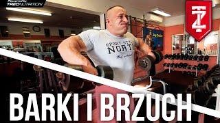 Trening barków i brzucha - Papaj Robi Masę odc.03 (Zapytaj Trenera)