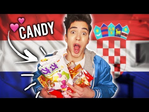 TRYING CROATIAN and SERBIAN CANDY!