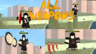 ROBLOX Shinobi Life - All Ninja Tools