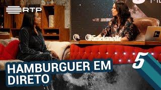 O dia em que Alberta Marques Fernandes recebeu um hamburguer enquanto apresentava o jornal