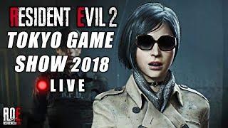 RESIDENT EVIL 2: REMAKE || NEW TRAILER | TOKYO GAME SHOW 2018 HYPE! | 🔴 L I V E