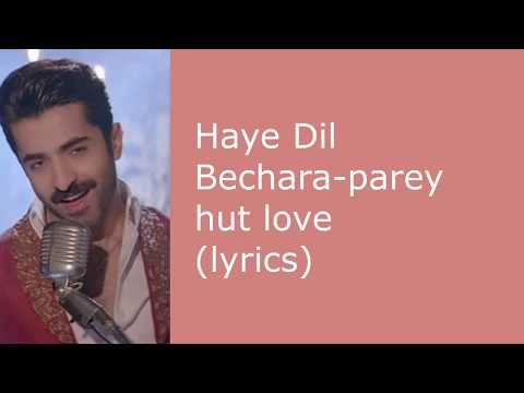 haye-dil-bechara---(lyrics)