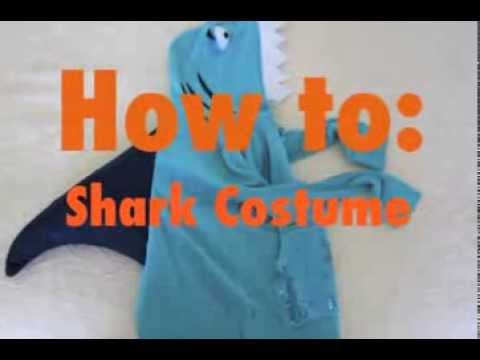 How to make a cute diy shark costume by goodwill upcycling expert how to make a cute diy shark costume by goodwill upcycling expert annie temmink youtube solutioingenieria Choice Image