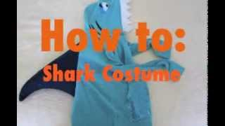 How To Make A Cute DIY Shark Costume - by Goodwill Upcycling Expert Annie Temmink