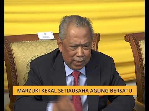 Datuk Marzuki Kekal Setiausaha Agung Bersatu - Muhyiddin