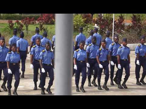 Liberia Maritime Training Institute Parent's Day Trick Drill