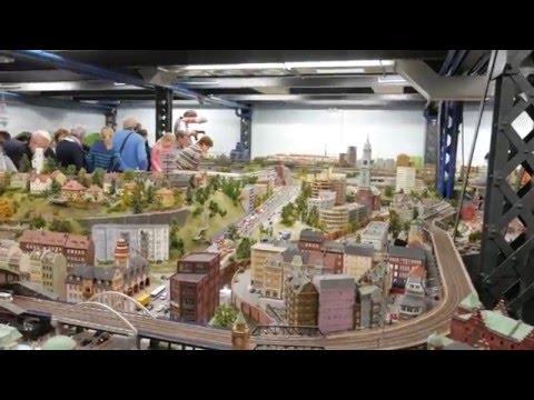 It's all so tiny! Miniatur Wunderland in Hamburg. Whimsical Travelers Vlog 15