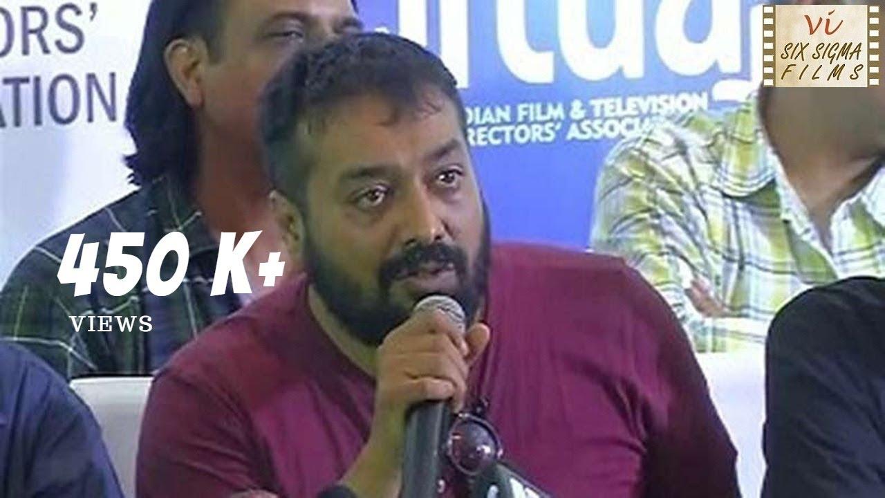 Download Anurag Kashyap Blasts Pahlaj Nihalani | Uncensored Video | Six Sigma Films