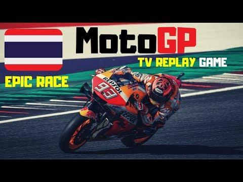 MotoGP THAILAND 2019 | Championship #15 | TV Replay | MotoGP 19 PC Game