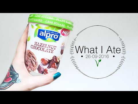 TASTING NEW ALPRO VEGAN ICE CREAM 😱🌱  What I Ate