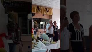 Свадьба Саши и Ани. Поздравление папы.