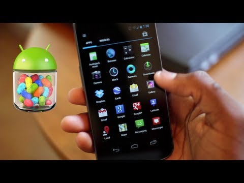 Top 5 Android 4.1 Jellybean Features!