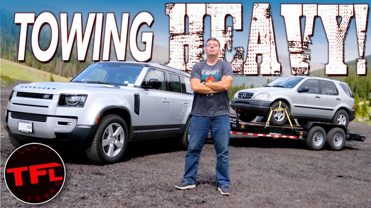 I Max Out a New Land Rover Defender and Take It Up the World's Toughest Towing Test!