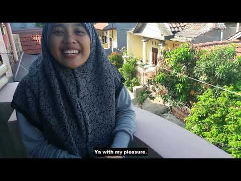 20 Questions with Luthfiyah and Aji | 3EB17 (Vogue Parody)