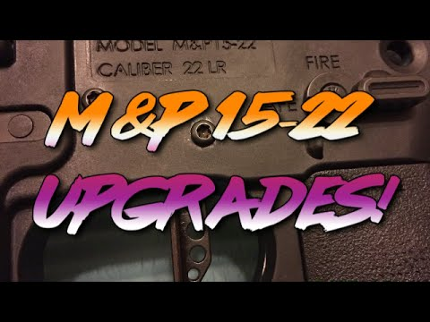 Smith & Wesson M&P 15-22 - Upgrades How To Video