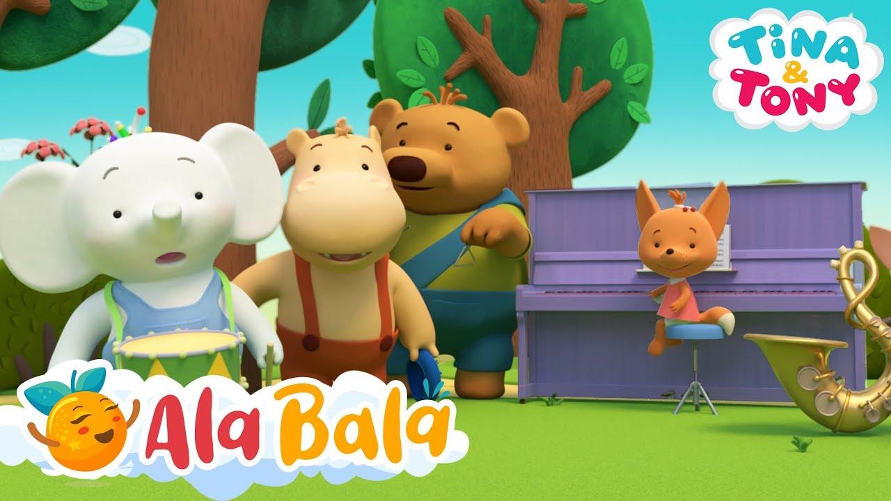 Tobele (Ep. 8) Tina și Tony - Desene animate dublate în limba română | AlaBala