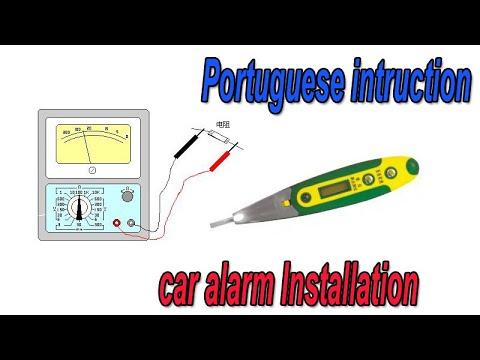 cardot gsm car alarm security system installation instruction by speaking portuguese china supplier