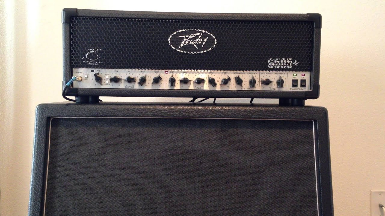 Testing the Zakk Wylde OD with a Les Paul and Peavey 6505 plus
