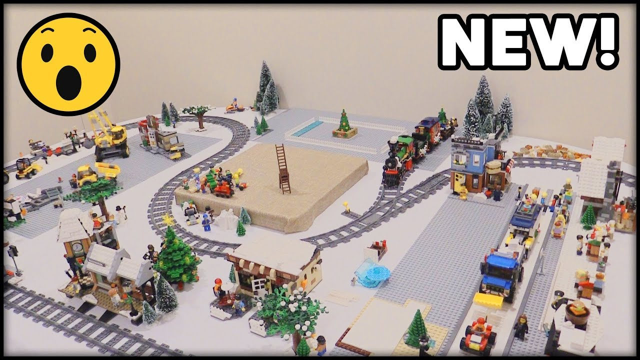 Lego Christmas Village 2019 THE BIGGEST UPDATE YET! LEGO Winter Village   Update #4   YouTube