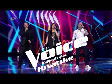 "Tony, Monika i Edgar: ""Easy Lover"" - The Voice of Croatia - Season2 - Live3"