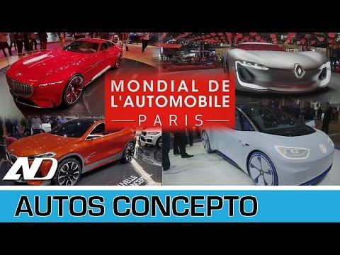 Los conceptos y prototipos del Paris Motor Show 2016 - AutoDinámico