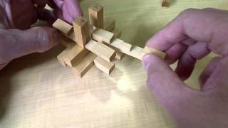 Altekruse 14 Piece Burr Puzzle Solution