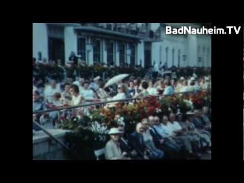 Der Große Sprudel von Bad Nauheim 1958