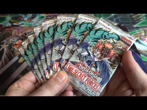 NEKROZ, RITUAL BEAST, & YOSENJU CARDS!  The Secret Forces  8 Booster Packs