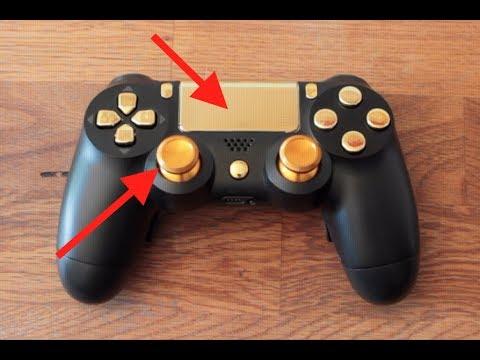 Tasten austauschen + Alusticks Einbauen | PS4 Controller ...