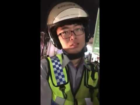 难得看到的中华民国警察,敢和台独纠缠!
