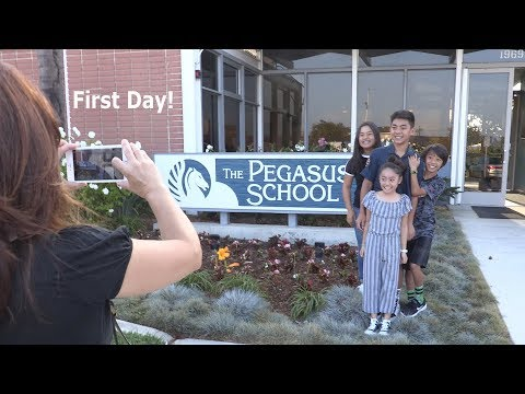 The Pegasus School - First Day 2017