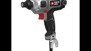 Porter Cable Corded Impact Driver Review