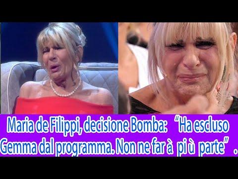 """Maria de Filippi, decisione Bomba """"Ha escluso Gemma dal programma Non ne farà più parte"""" Cosa ha"""