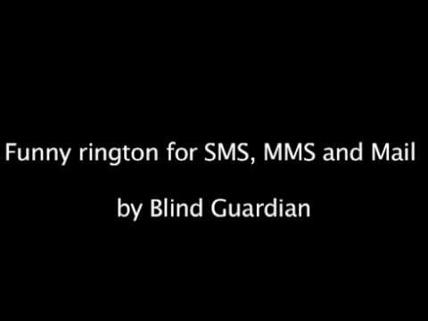 1st April great and funny SMS, MMS and Mail ringtone by Blind Guardian