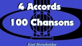 01 - Frère Jacques - 1 accord - Méthode Guitare Débutant - 4 Accords 100 Chansons Enfants