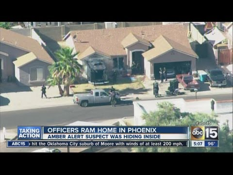 Officers ram home in Phoenix