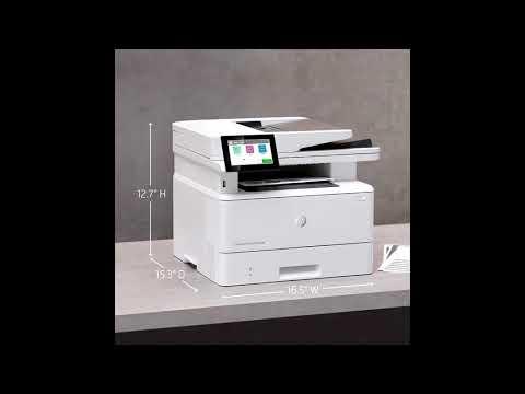 HP Laserjet Enterprise M430f Multifunction Printer Review
