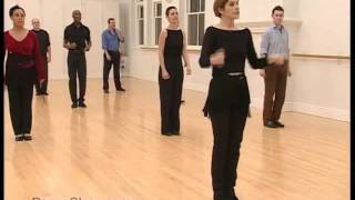 Salsa Basic Cumbia Step practised to music 14/22