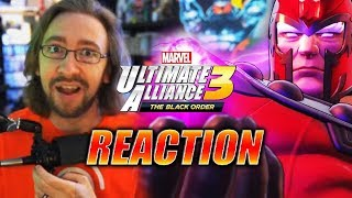 MAX REACTS: X-Men Are Back!? Marvel Ultimate Alliance 3